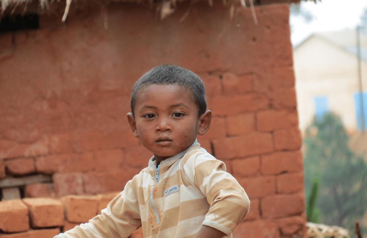 Little malagasy boy