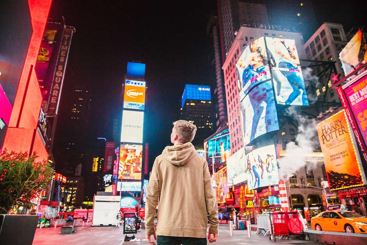 New York City in Night Life
