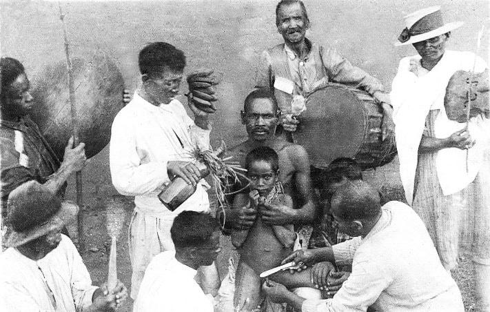 Old-fashioned circumcision - Madagascar