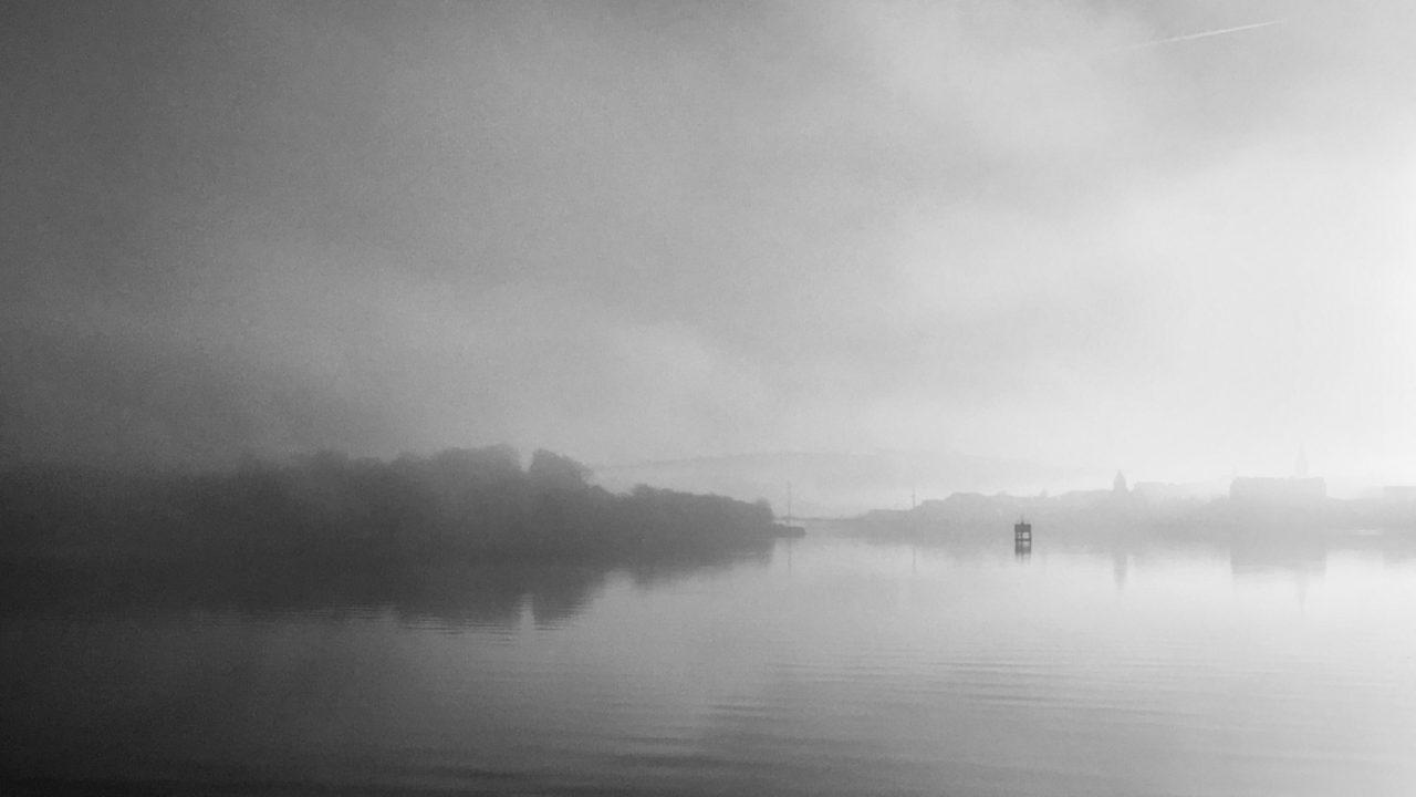 Fog on the Foyle, Derry - - Sean Mackel