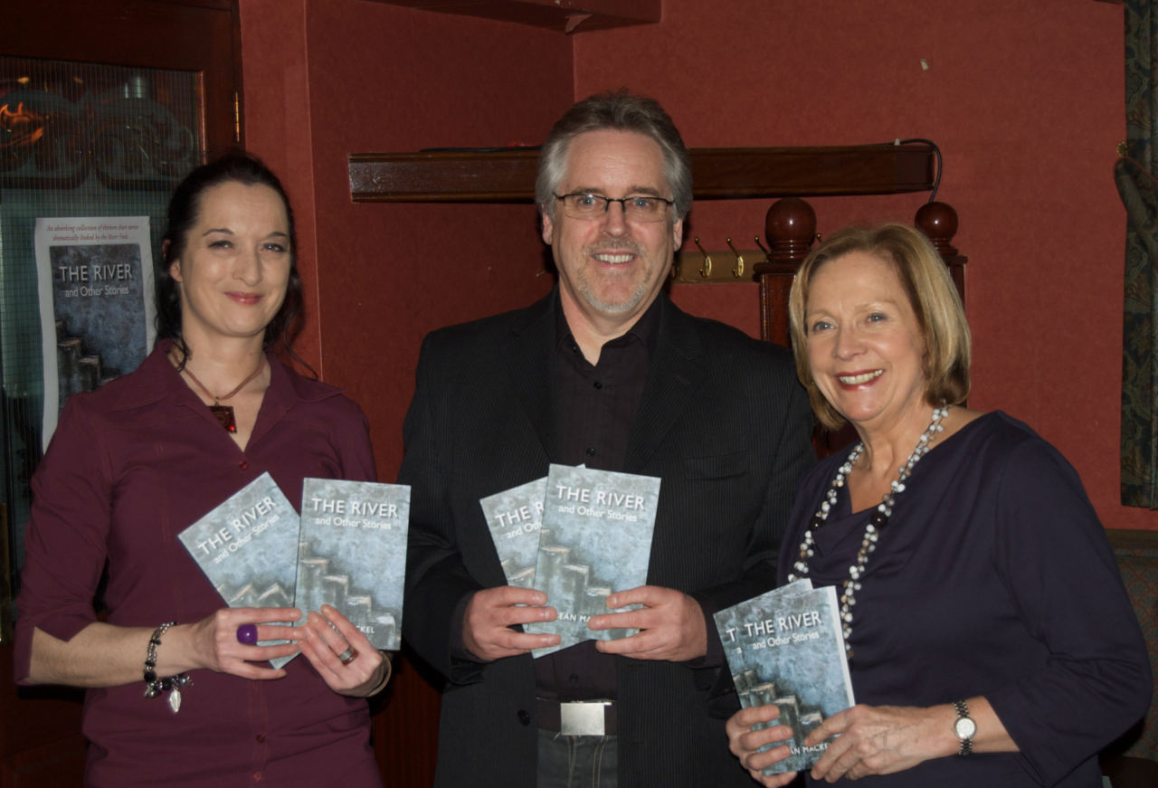 The River book launch - Sean Mackel